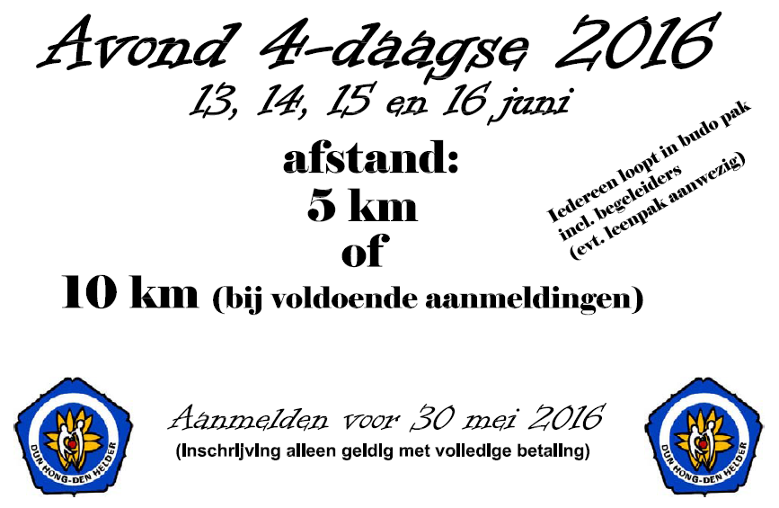Avond vierdaagse Den Helder