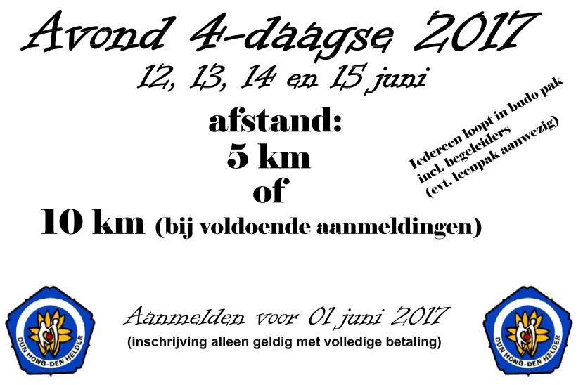 Avondvierdaagse Den Helder 2017