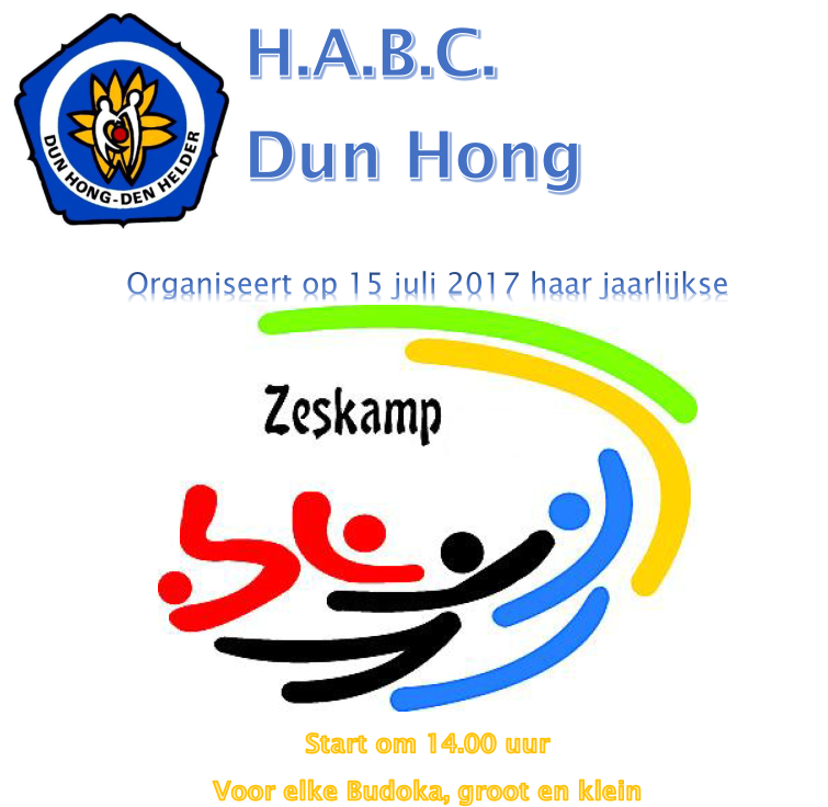 Dun Hong zeskamp @ H.A.B.C. Dun Hong | Den Helder | Noord-Holland | Nederland